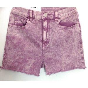 BDG Purple Cut Off Shorts